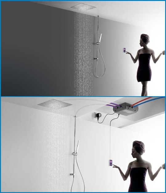 grifería-tres-electronica-shower-technology