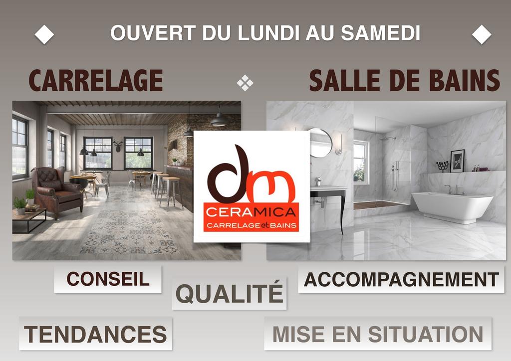ouverture dm ceramica DM Ceramica Carrelage Loire Haute-Loire