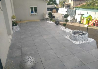 Dallage & déco extérieur-DC-Ceramica dans la Loire