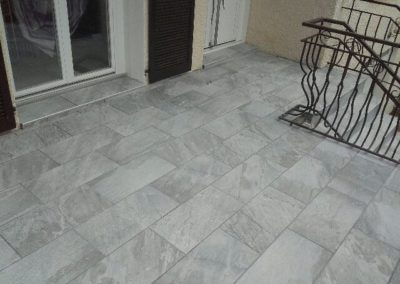 Carrelage-veranda-DC-Ceramica vers Firminy