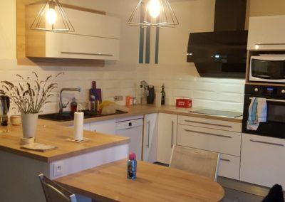 Carrelage cuisine-DC-Ceramica vers Firminy