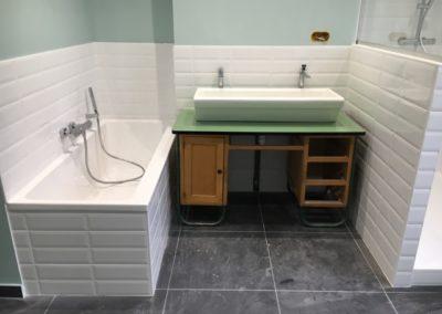 Carrelage de salle de bain-DC-Ceramica vers Firminy