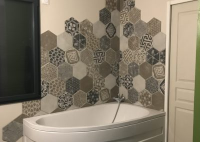Carrelage & faïence-salle de bain-DC-Ceramica à Firminy